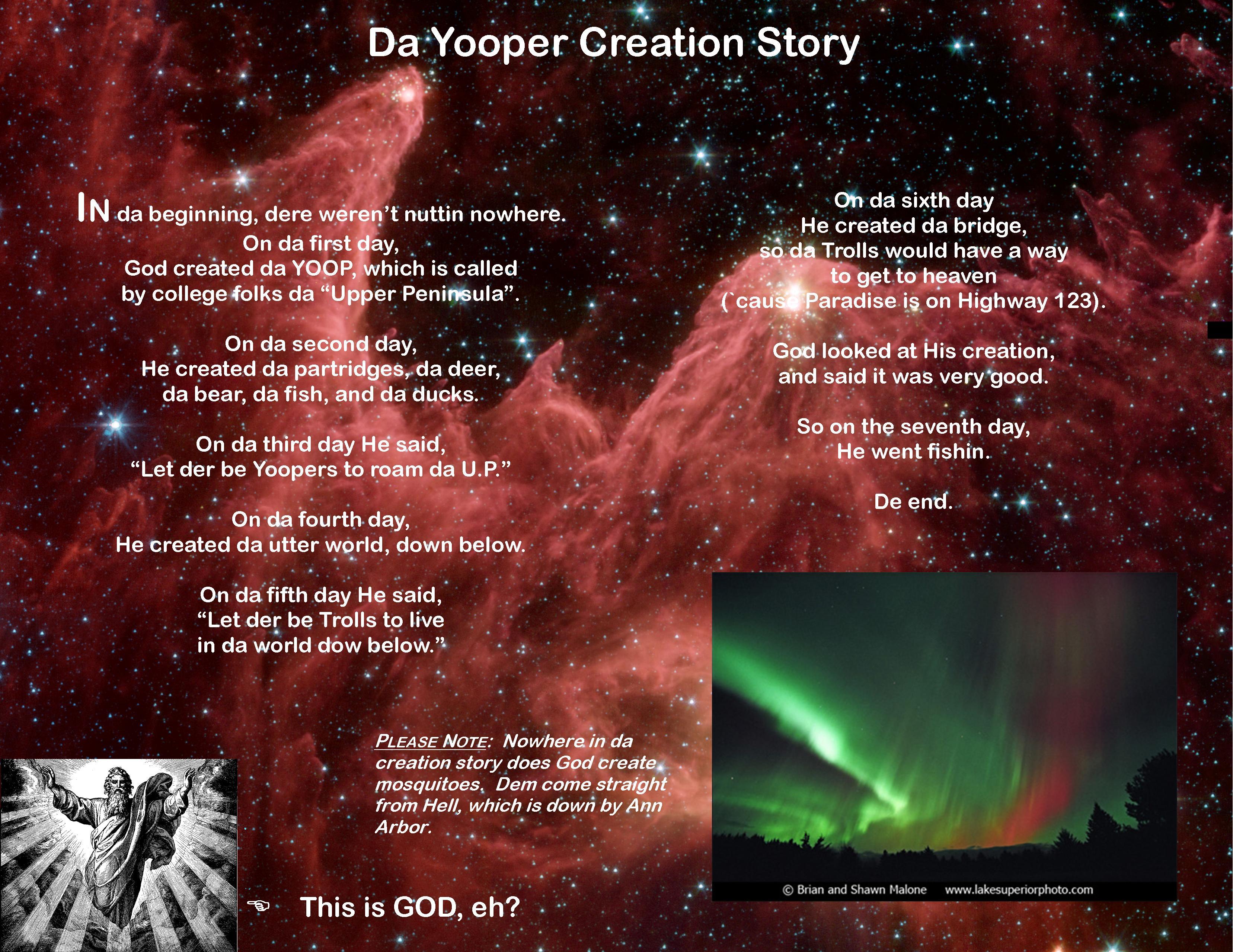 yooper creation story by regklubeck on deviantart