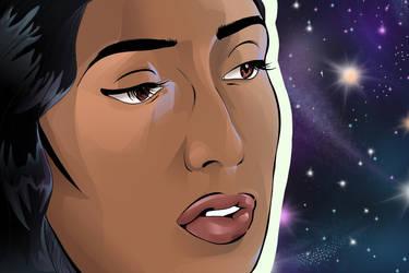 Sivanthi Starscape by summeranime123