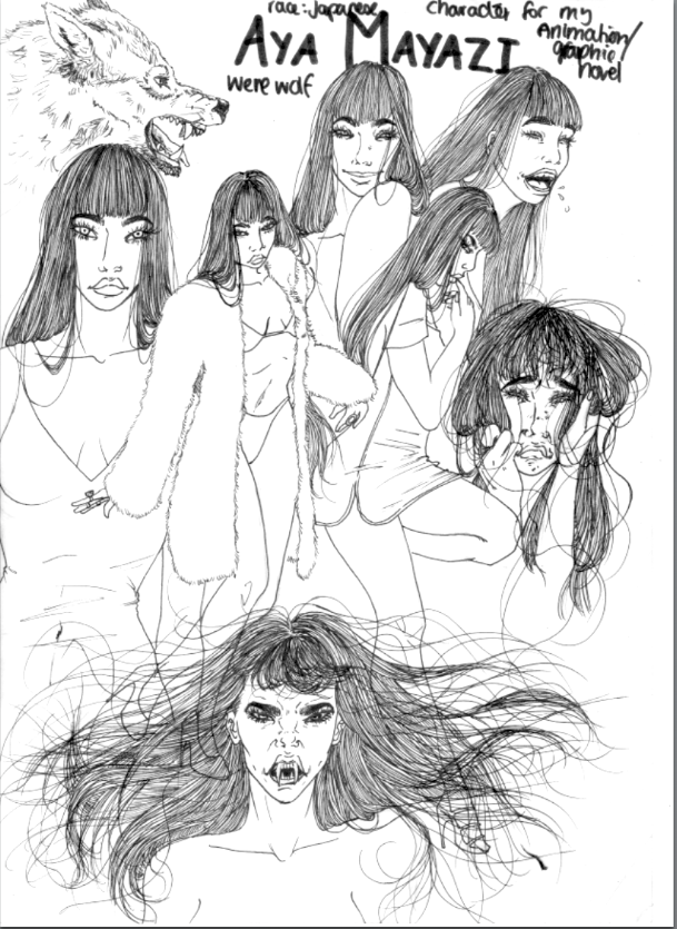 Aya Mayazi by summeranime123