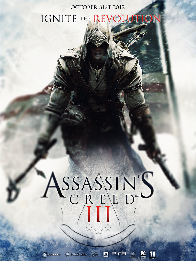 Assassin's Creed 3 Promo Poster by JSWoodhams on DeviantArt