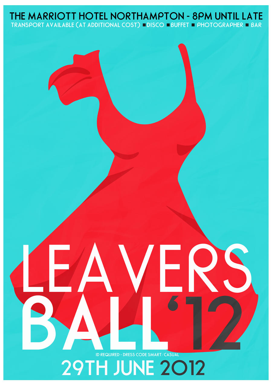Poster design cost -  Leavers Ball Poster Design Fem By Jswoodhams