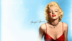Marilyn in Colour - Wallpaper by JSWoodhams