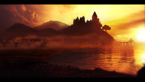 The Citadel - Matte Painting by JSWoodhams