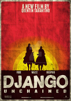 Django Unchained Variant Poster