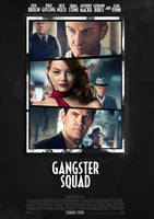 Gangster Squad Movie Poster by JSWoodhams