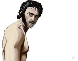 Wolverine Digital Painting by JSWoodhams