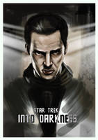 Star Trek Into Darkness Poster illustration by JSWoodhams