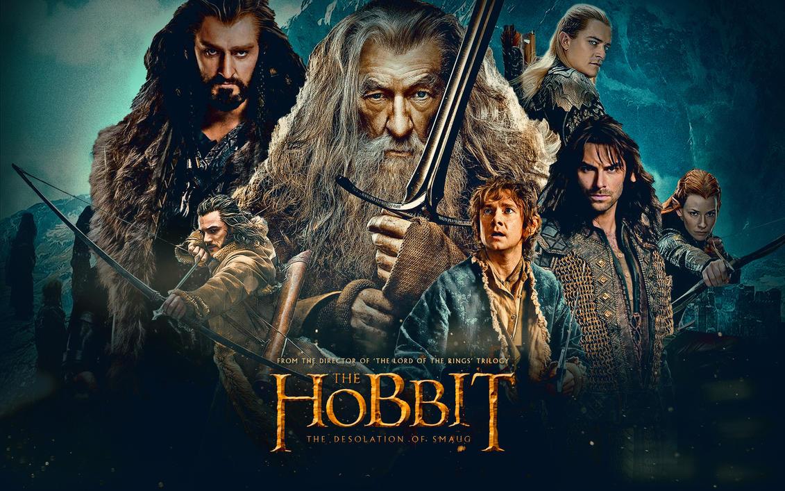 The Hobbit The Desolation Of Smaug Smaug Wallpaper