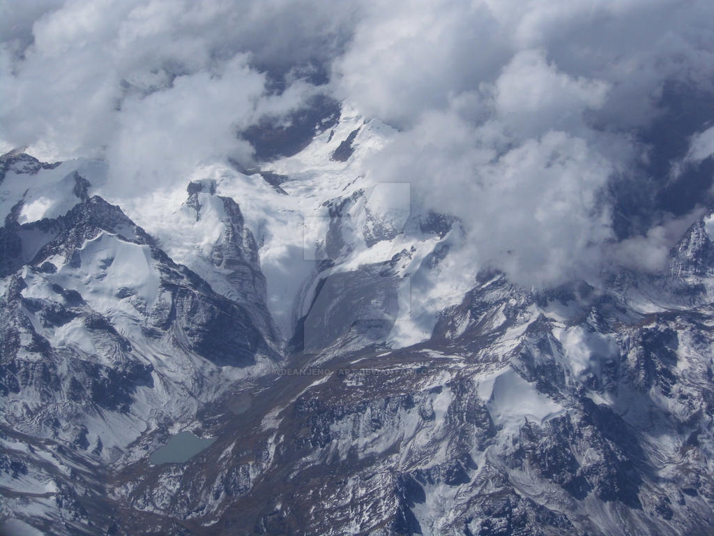 soaring over Andes 4 by DEANJENO--art