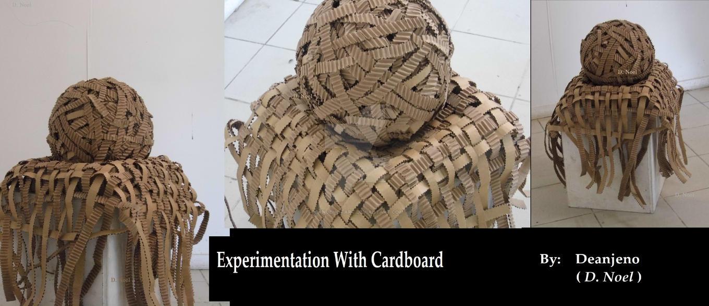 Media Experimentation - Cardboard by DEANJENO--art