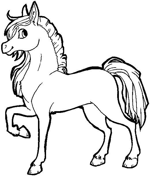 Line Art Vs Painting : Free horse lineart ms paint friendly by xsitax on deviantart