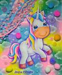 Cute Unicorn by JaqueOliveira