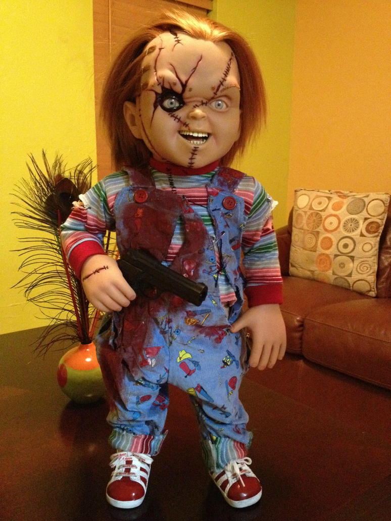 Chucky 1:1 by Sideshow Collectibles by jayrbermuda on DeviantArt