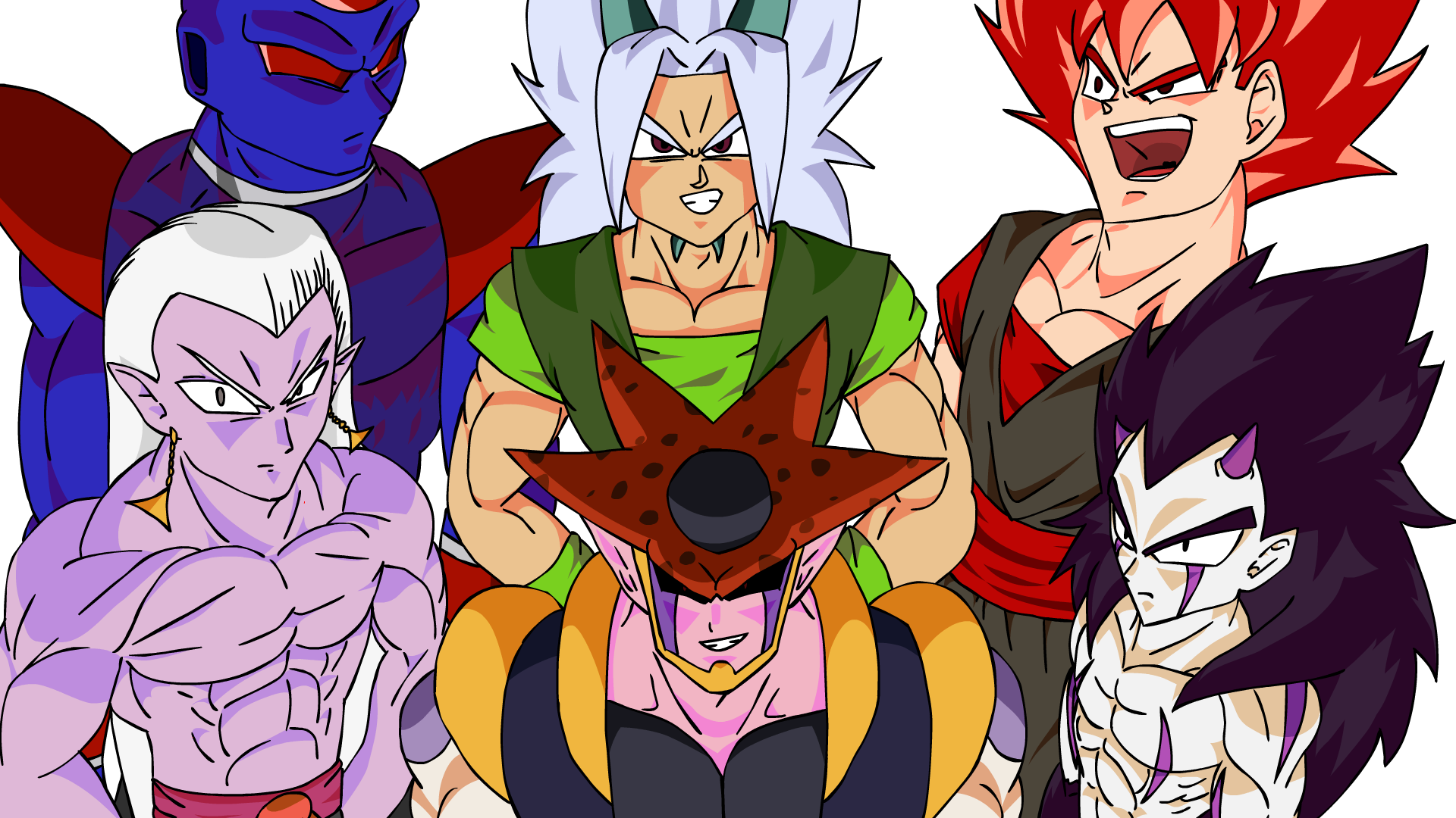 Villanos De Dragon Ball Af Historia Completa By Khddutfkifu On Deviantart