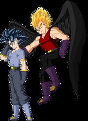 Matt Y Dark Angel Vegeta