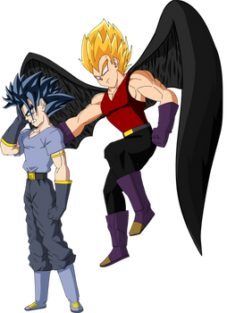 Matt Y Dark Angel Vegeta