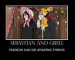 Sebastian and Grell