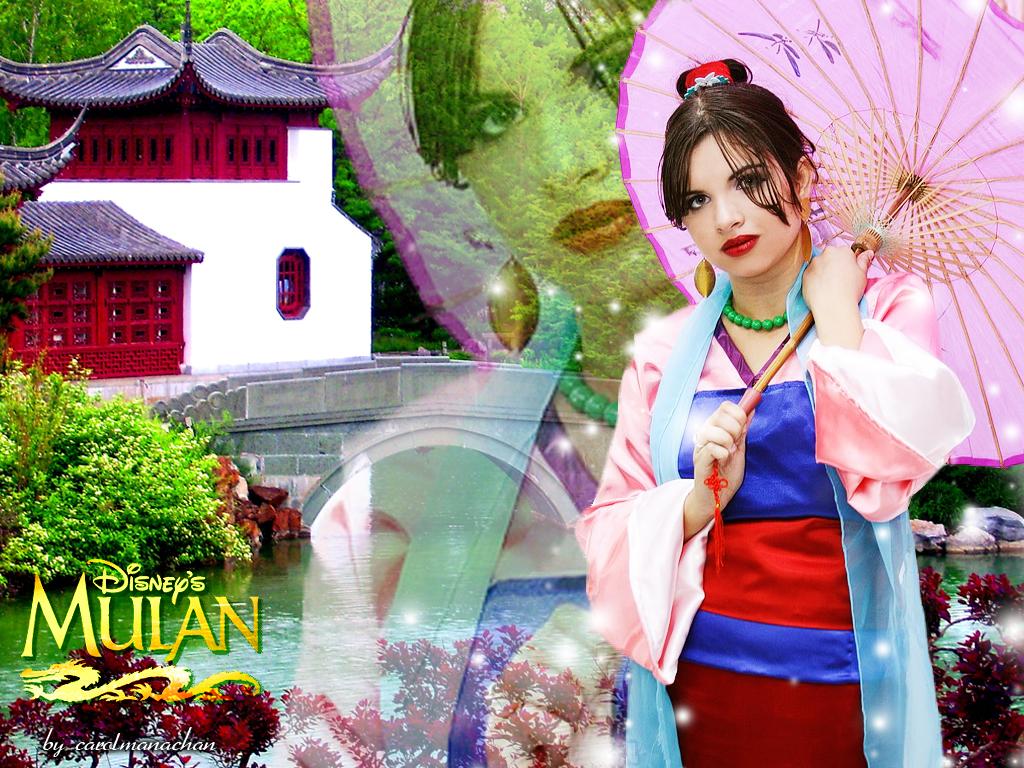 Mel Kawaii as Mulan by carolmanachan
