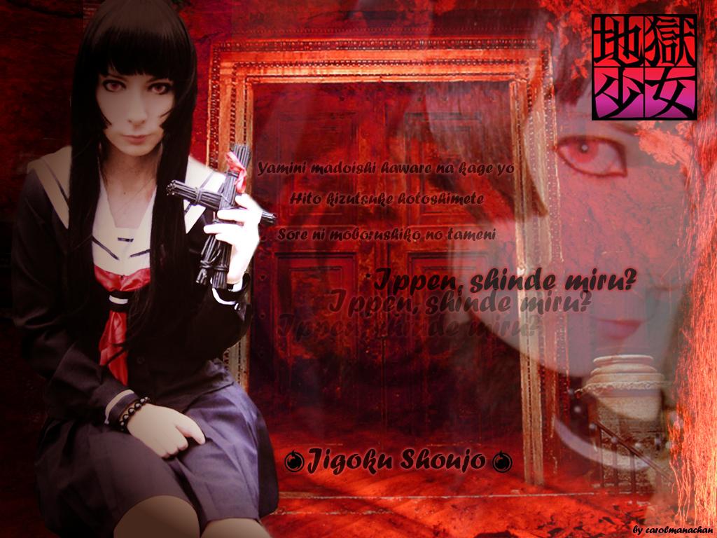 Lucy as Enma Ai by carolmanachan