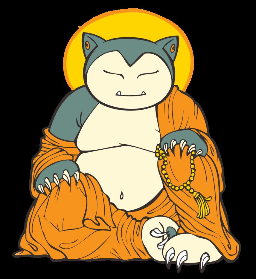 Templo de Snorlax (Post oficial del Movimiento Snorlax) - Página 46 Buddha_snorlax_by_stablercake-d36ym7y