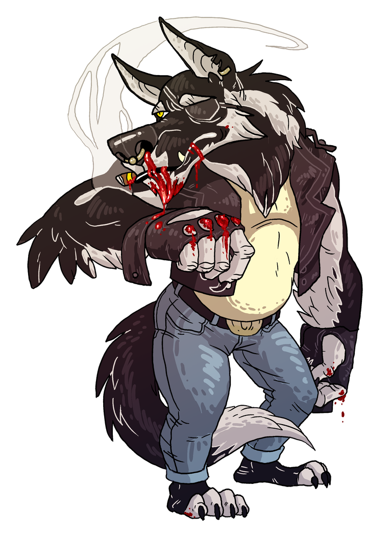 Werewolf Commission by stablercake