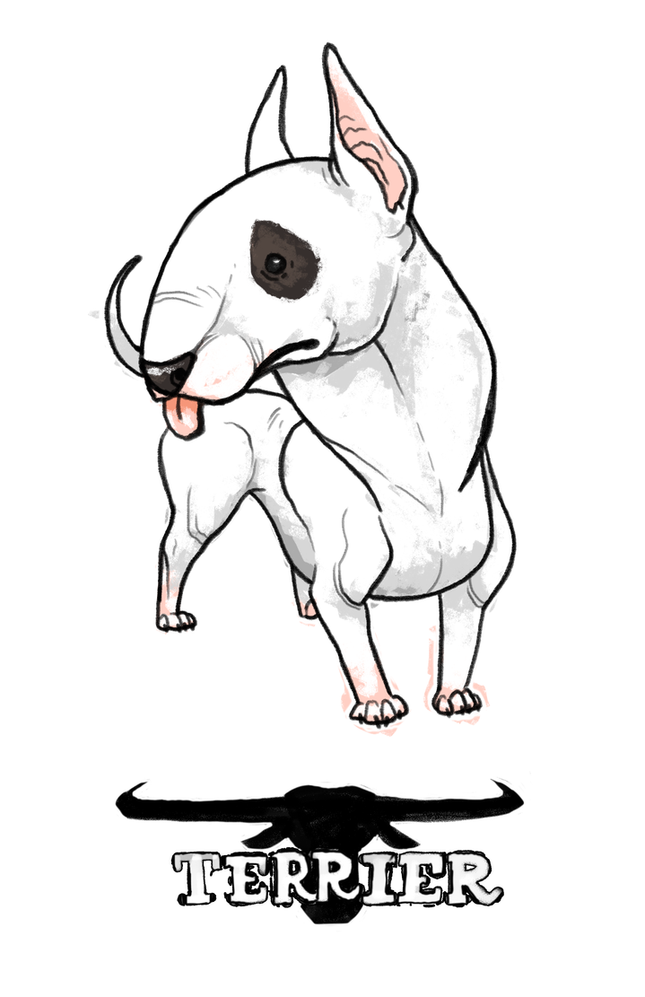 Bull Terrier by stablercake