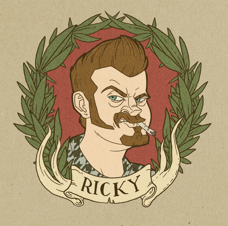Ricky - Trailer Park Boys by stablercake