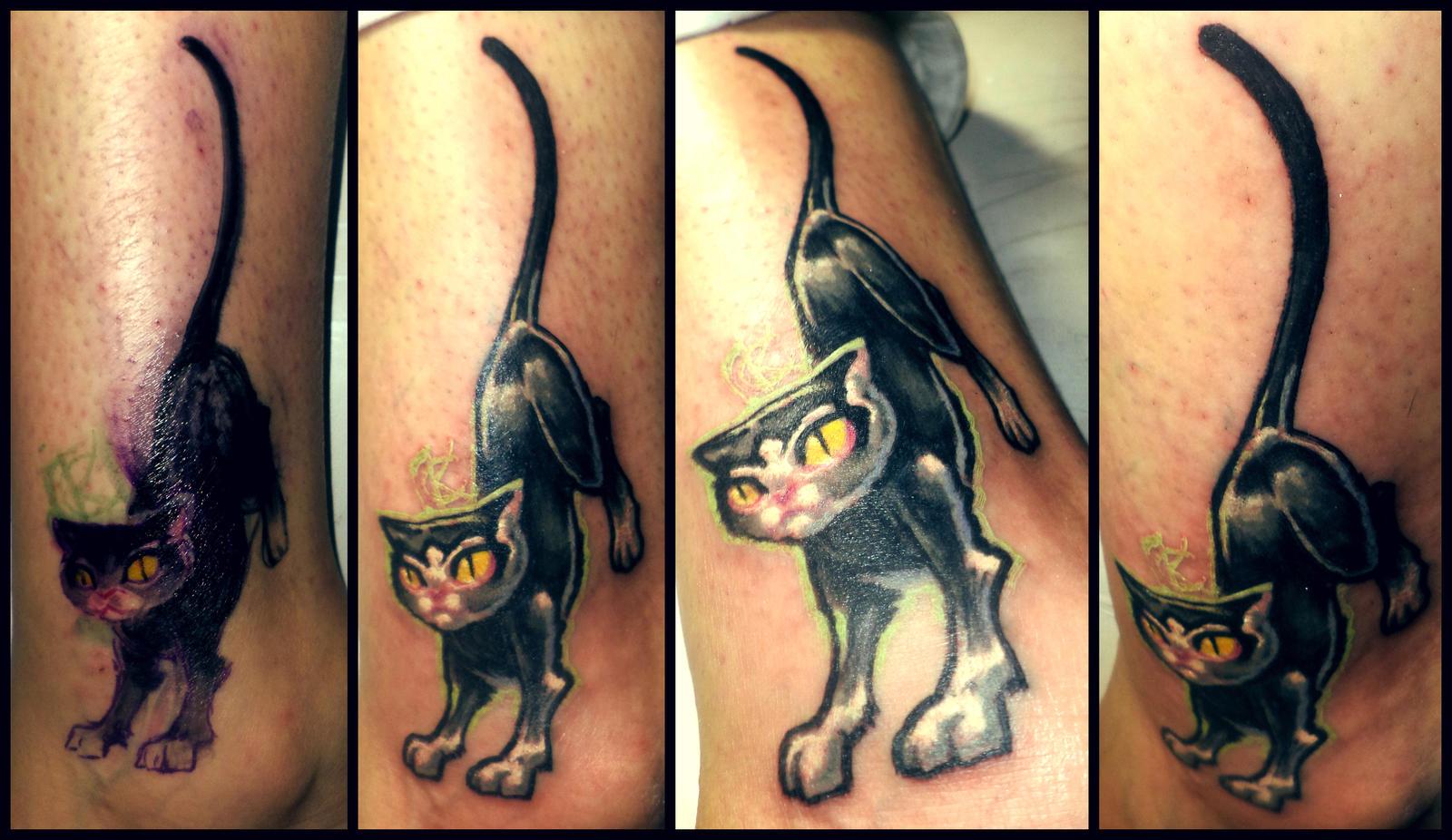 Женские татуировка кошек фото и
