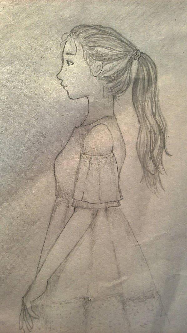 The girl by UneFilleChaude