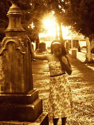 Spontaneous Cementary Visits 2 by TwistedSuicide