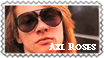 Axl Roses stamp by Thanatophage
