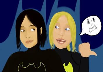 Team Batgirl by gargoylekitty