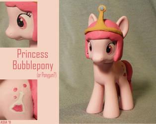 Princess Bubblepony by gargoylekitty