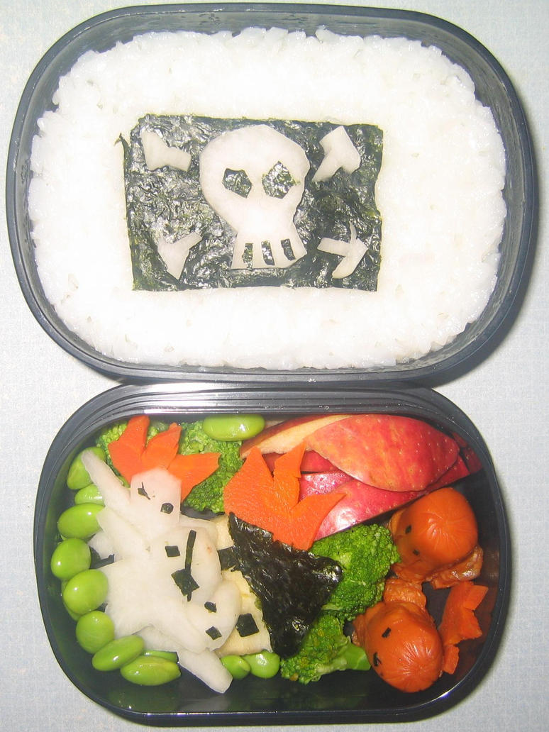 Pirates of the Bento by gargoylekitty