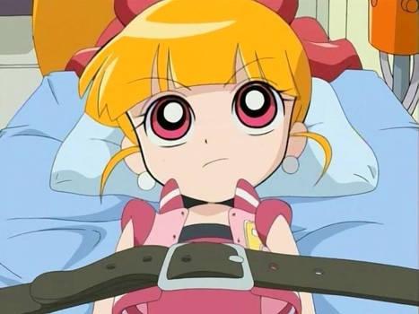 Momoko strapped