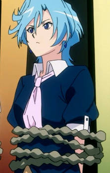 Suiko tied up