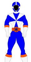 8.  Power Rangers Lightspeed Rescue - Blue Ranger