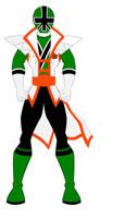 18.  Power Rangers Super Samurai - Green Ranger