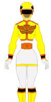 19. Power Ranger Mega Force - Yellow Ranger