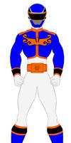 19. Power Rangers Megaforce - Blue Ranger