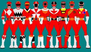 Power Ranger Forever Red