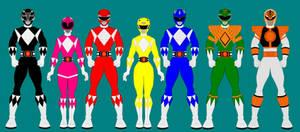 1. Mighty Morphin Power Ranger
