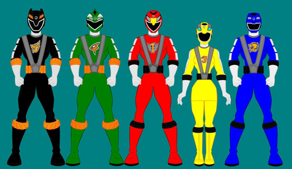 Top Five Power Rangers P R M - Circus
