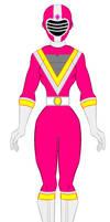 Chikyu Sentai Fiveman - Pink Sentai