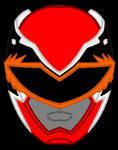 19. Power Rangers Mega Force - Red Ranger