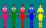 9. Power Rangers Time Force