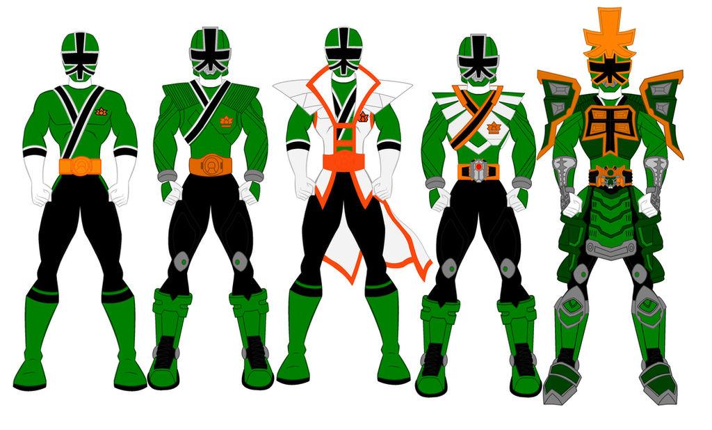 Power Rangers Samurai - Green Ranger Evolution by