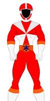 8. Power Rangers Lightspeed Rescue - Red Ranger