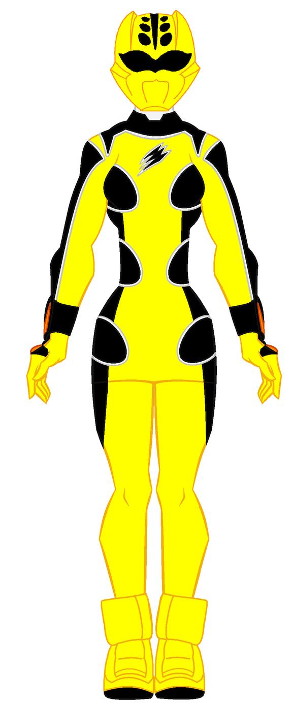 Yellow jungle fury ranger