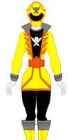 20. Power Rangers Super Megaforce - Yellow  Ranger